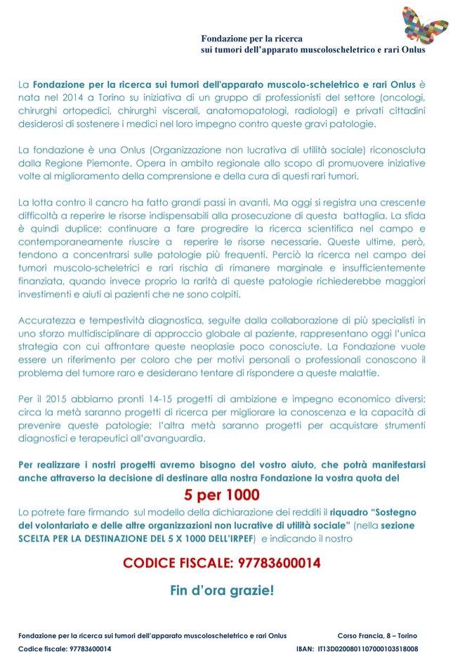 FondazionePerLaRicercaTumori