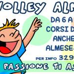 ISIL VOLLEY ALMESE – CORSI DI VOLLEY DA 6 A 11 ANNI – LA PASSIONE ABITA QUI!