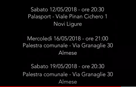 Serie C Regionale Femminile – Play Off Fase Uno