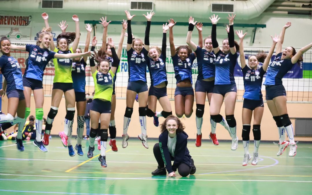 UNDER14: SI VOLA AI QUARTI DI FINALE!