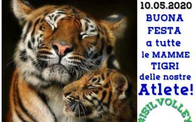 10.05.2020 – BUONA FESTA DELLA MAMMA dall' ISIL VOLLEY ALMESE