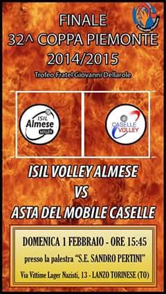 Coppa piemonte 2014/2015: La Finalissima
