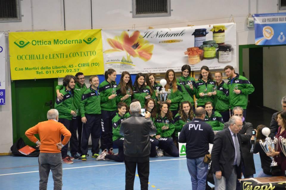 Coppa Piemonte: Il trofeo è nostro!!!