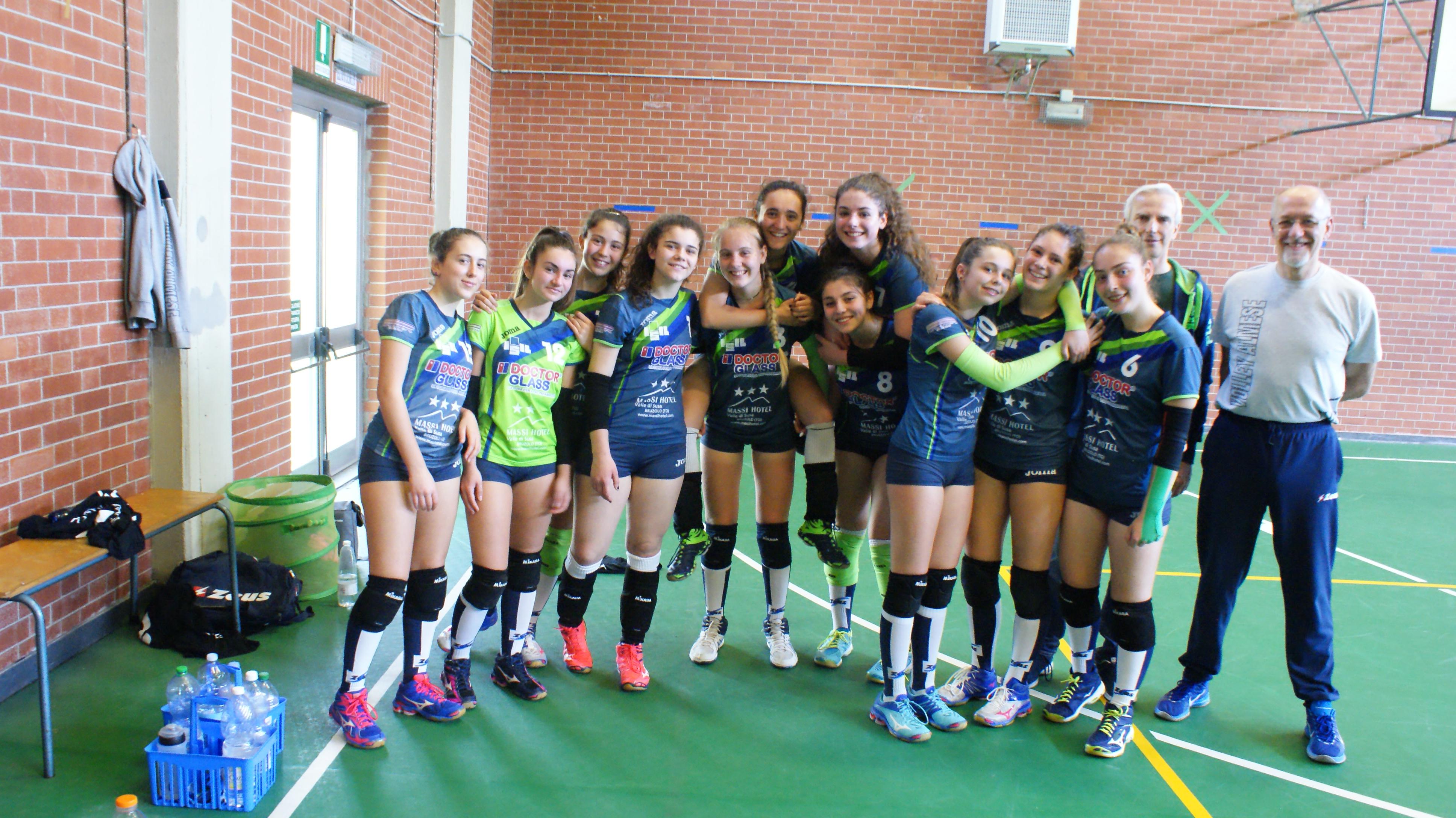 U14 in U16 cus collegnao – Almese verde sconfitta con onore