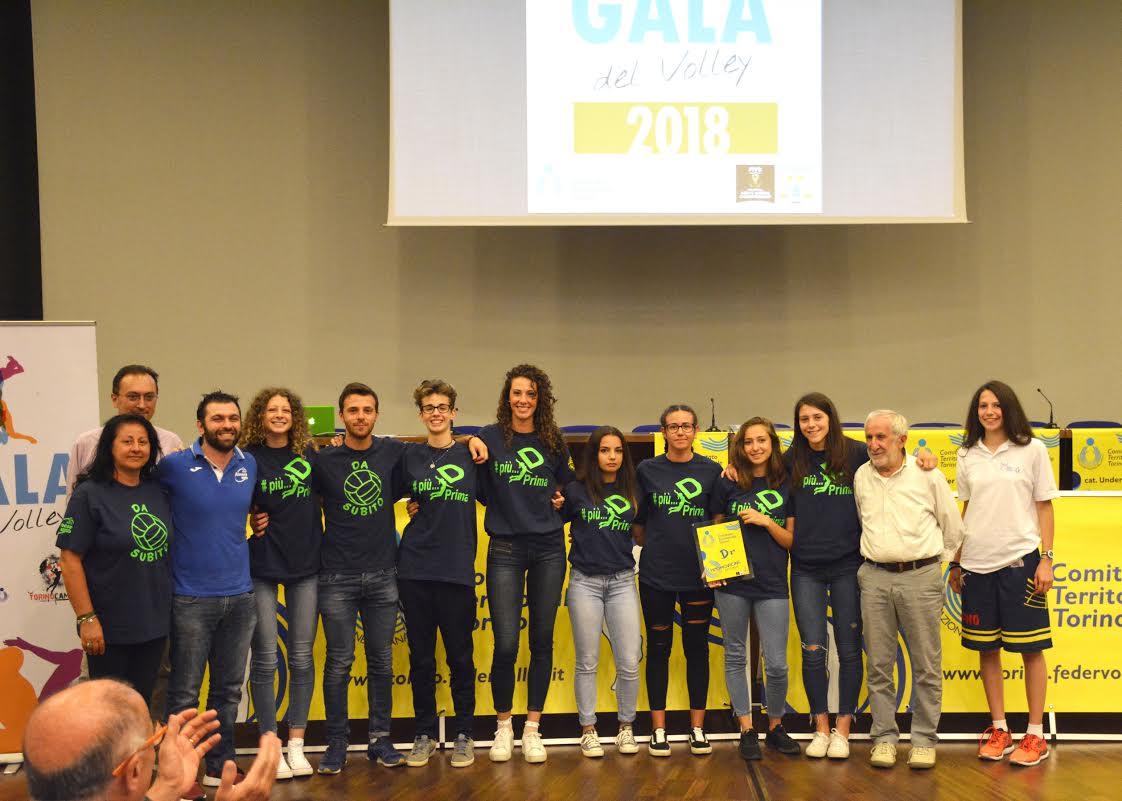 """GALA' DEL VOLLEY 2018 – PREMIATE LE RAGAZZE DI ANDREA BETTETO: #PIU'""""D""""PRIMA"""