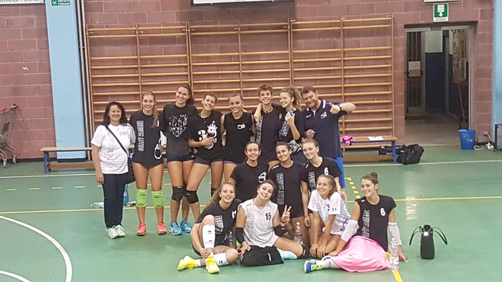 """Serie """"D"""" Isil Volley: seconda partita e seconda vittoria, in esterna, contro lo Stella Rivoli!"""