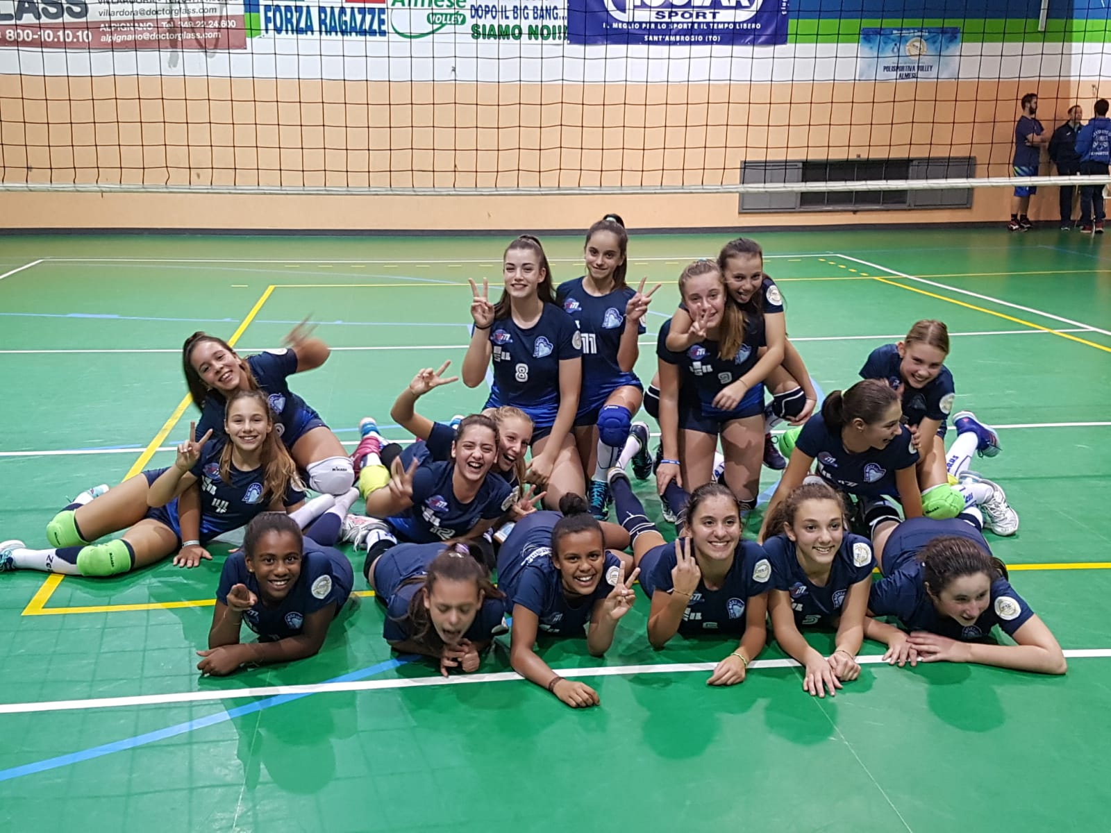UNDER 13: ISIL VOLLEY – 143 UNION VOLLEY
