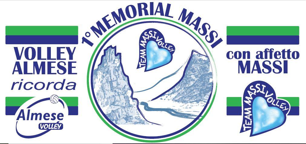 """""""1° MEMORIAL MASSI"""" –             28 e 29 GIUGNO 2019    ALMESE (TO) – TORNEO              INTERNAZIONALE di VOLLEY FEMMINILE – Categoria Under 16"""