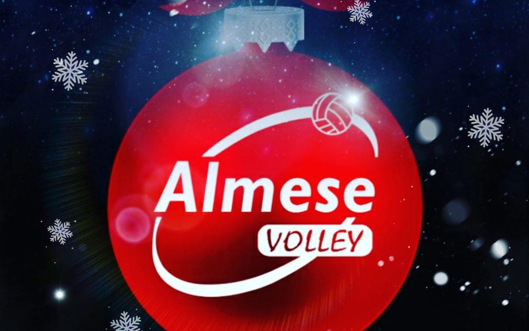 Gli auguri di Buon Natale e buone feste a tutti dall'ISIL VOLLEY ALMESE.